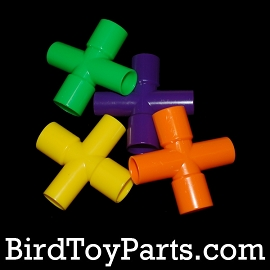 Plastic 4 Way Cross